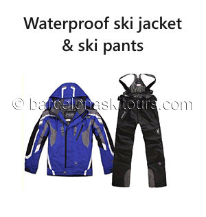 Ski jacket and ski pants